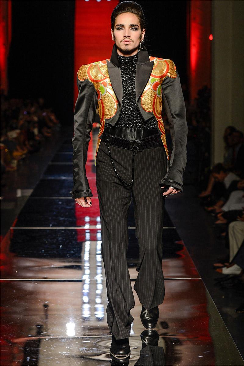 Jean paul gaultier haute couture fall winter 2012 for Haute couture men