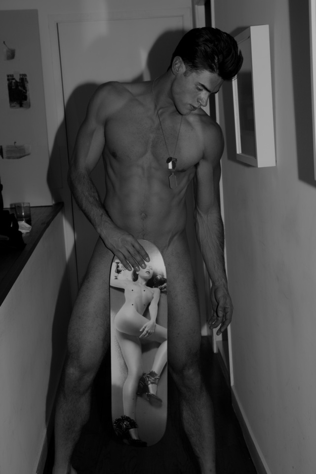 CHAD WHITE NUDE by JOSEPH LALLY6