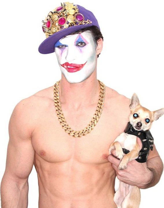 MichaelRannelliADONMagSendInTheJewelCapClownWButchChihuahuaMarcoOvando
