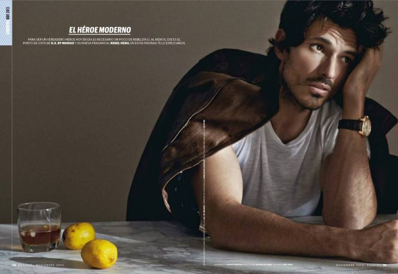 ESQUIRE Spain November 2013 ''El Héroe Moderno'' By Gorka Postigo1