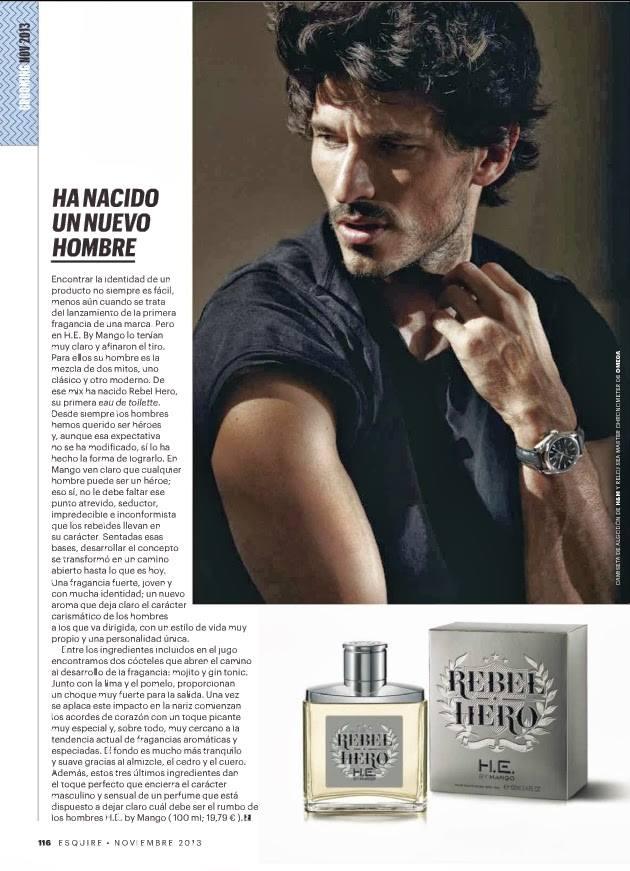 ESQUIRE Spain November 2013 ''El Héroe Moderno'' By Gorka Postigo2