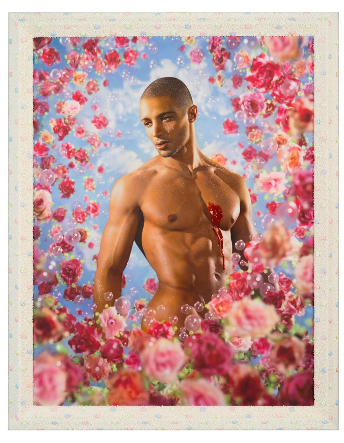 pierre et gilles h ros gallery exhibited at paris. Black Bedroom Furniture Sets. Home Design Ideas