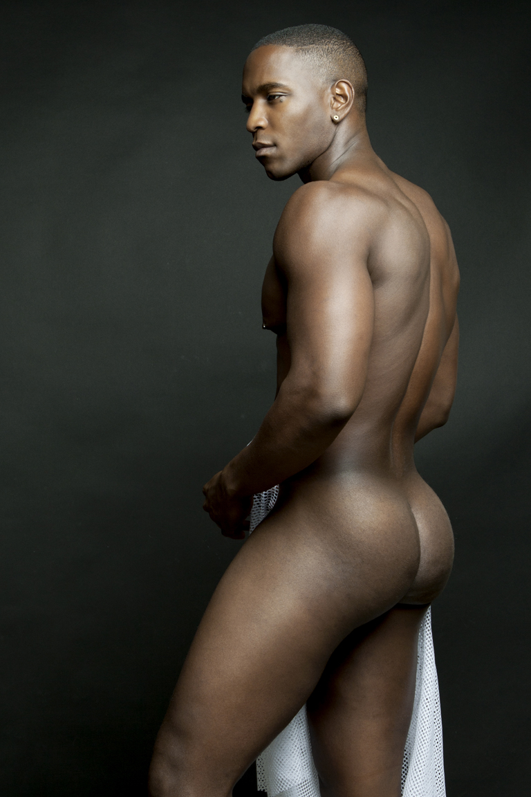 male nude black models