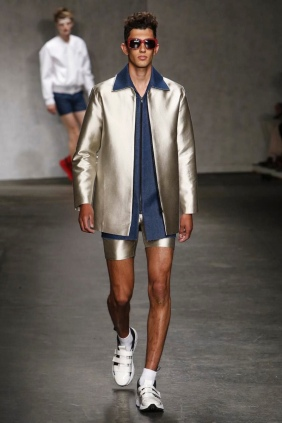 Xander Zhou, Menswear Spring Summer 2015 Fashion Show in London