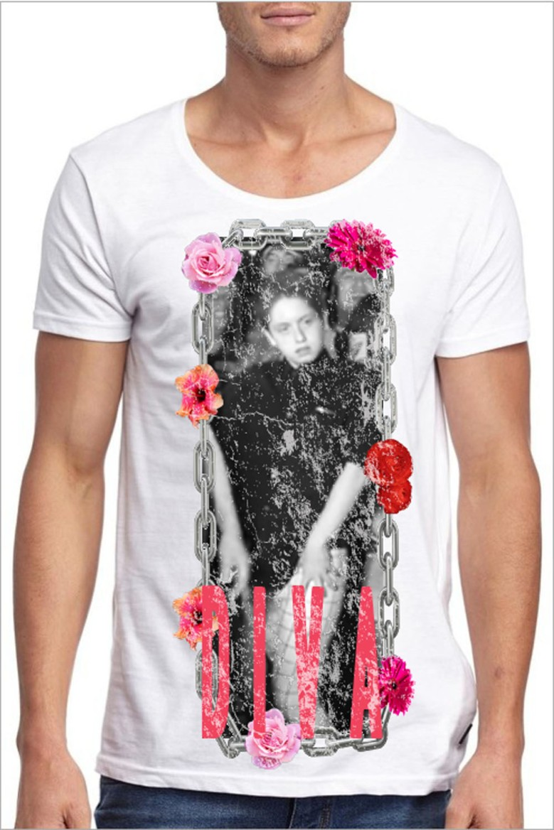 DIVA TSHIRT BY FASHIONABLY MALE
