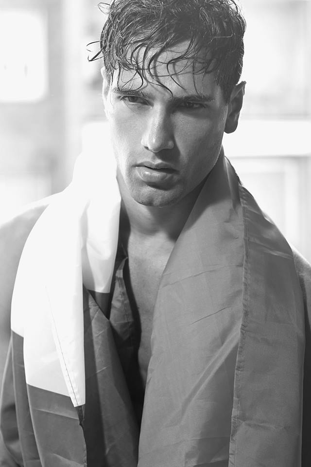 FABIO MANCINI in BLACK&WHITE by Fausto DiPino