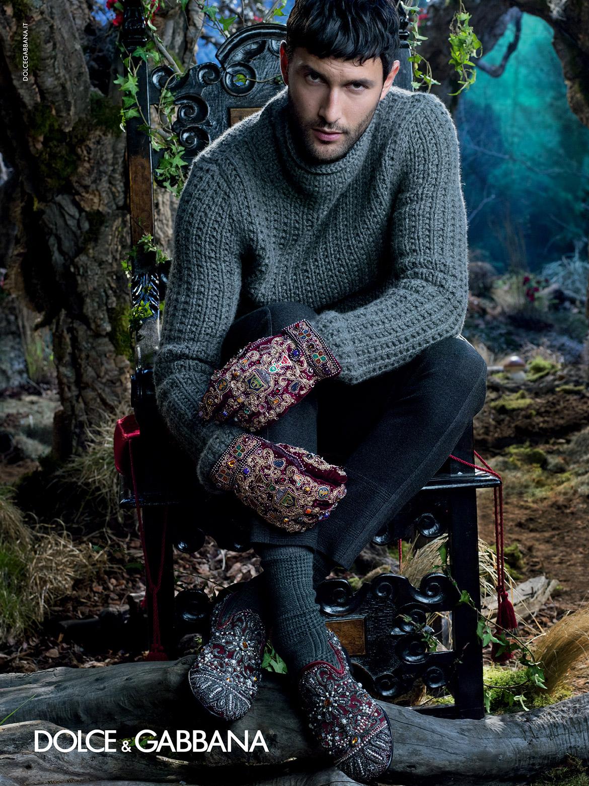 Dolce gabbana fall winter 2014 fashionably male - Mobeldesigner italien ...