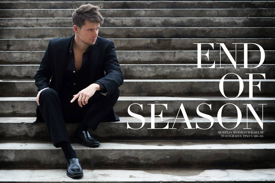 "::modelbook : Mathias Wilhelmi - ""End of Season"""