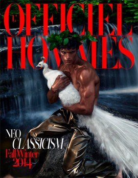 MATTHEW TERRY COVERS L'OFFICIEL HOMMES SINGAPORE FALL/WINTER 2014 ISSUE