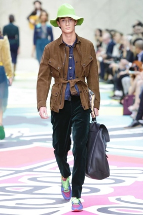 Burberry Prorsum S/S 2015 London