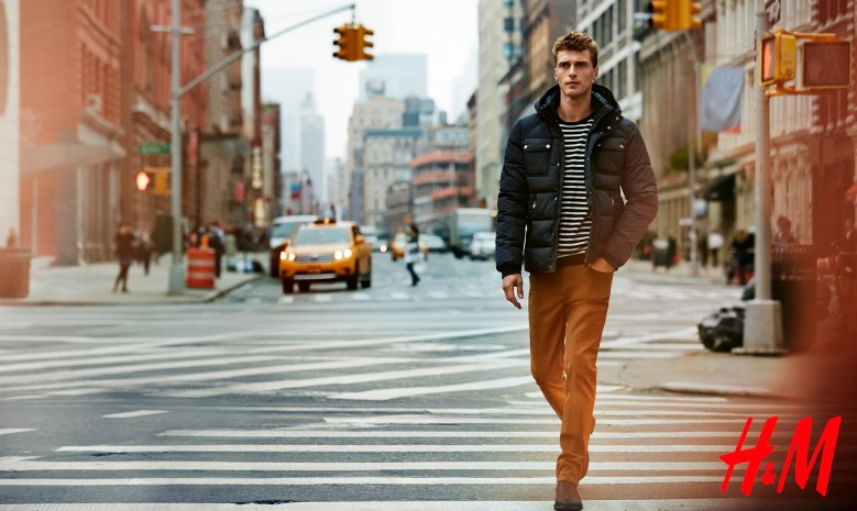 H&M Men F/W 14.15 Campaign by Peter Gehrke