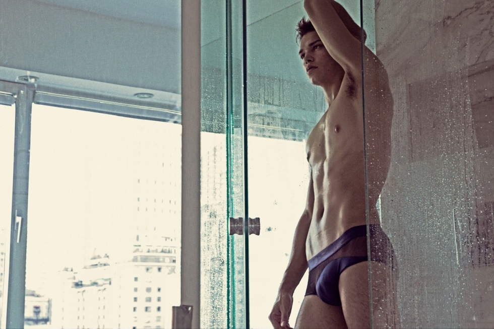 EXCLUSIVE FOR FASHIONABLY MALE: Luis Kruger by Charles Quiles