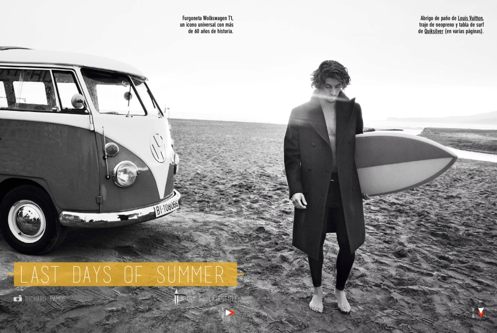 "GQ Spain September 2014 ""last days of summer"""