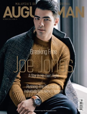 Joe Jonas for August Man Malaysia by Karl Simone