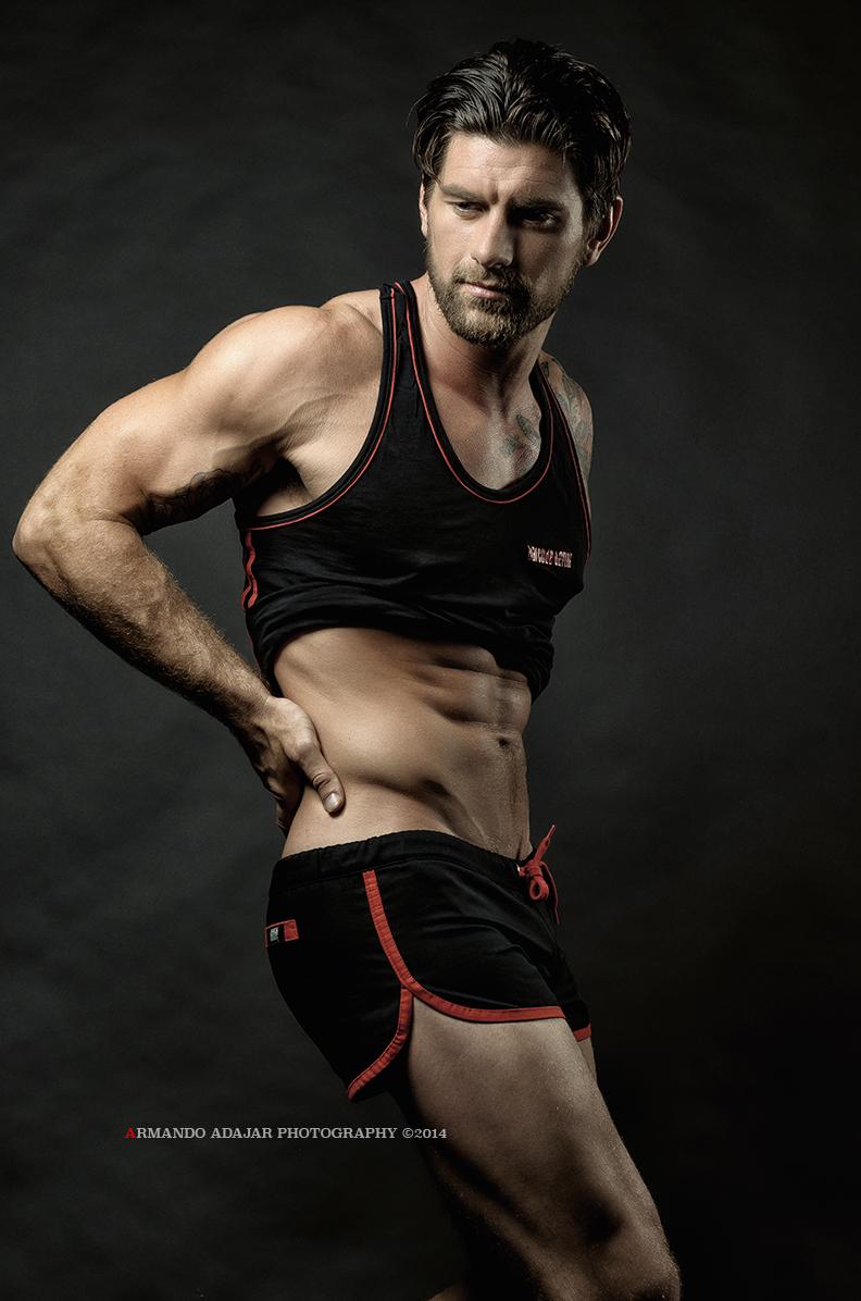 Creighton Male Fashion Model