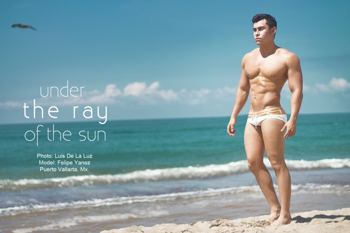 Under the ray of the sun Photo: Luis de la Luz Model: Felipe Yanez