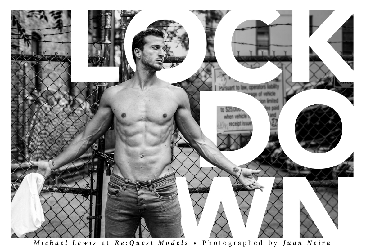 FASHIONABLY MALE PRESENTS: MICHAEL LEWIS BY JUAN NEIRA