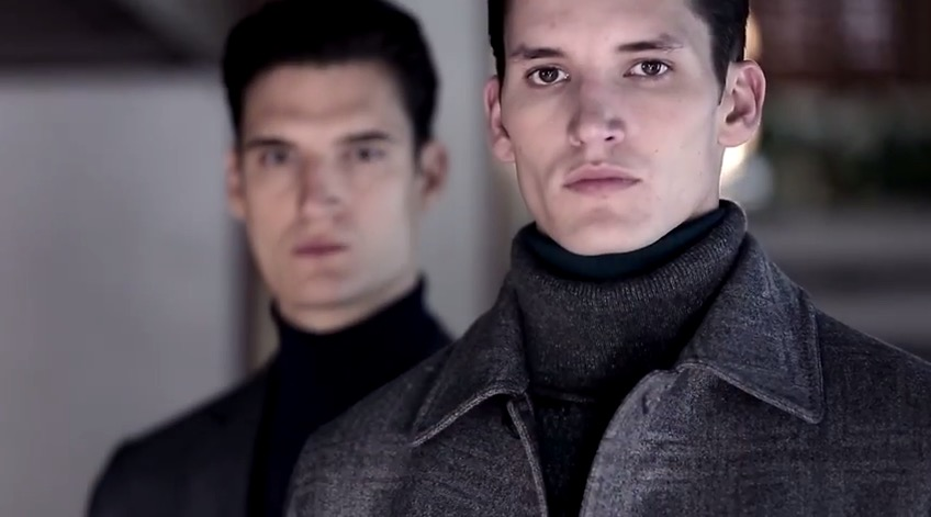 Brioni F/W 2014-15 Catalogue Shooting by Aaron Olzer