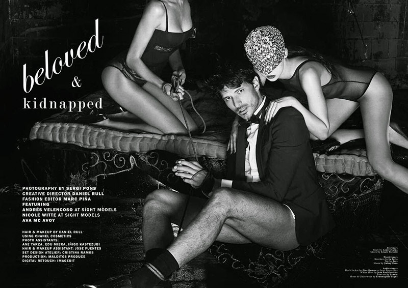 Beloved and Kidnapped | Andrés Velencoso Segura for Client Magazine