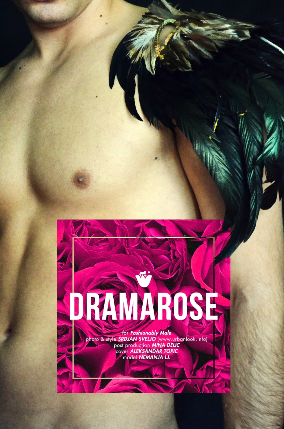 DRAMAROSE BY SRDJAN SVELJO FOR FASHIONABLY MALE