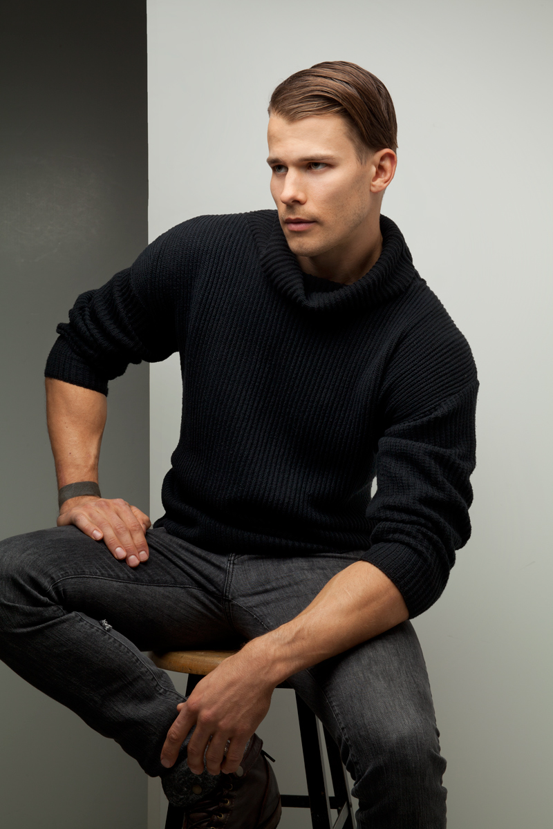 gorgeous classic build man from Salt Lake City, His name is Blake Robinson from Niya Models and recently signed with MSA Models. Stylist Malcolm Joris and was Art Directed by James Loy.