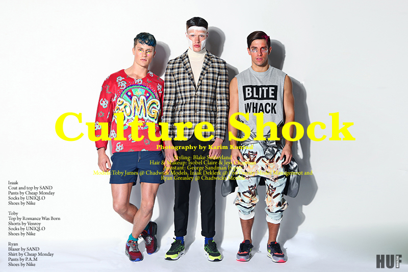 Culture Shock shot by Karim Konrad for HUF Magazine