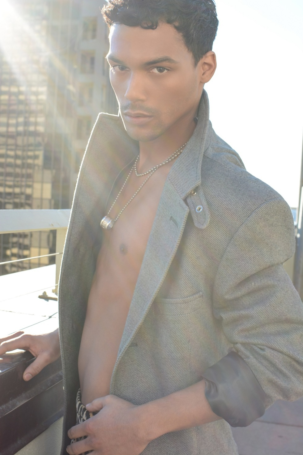 Meet Ryder the new muse from Dallas Texas based Photographer Calvin Brockington, stunning face and body