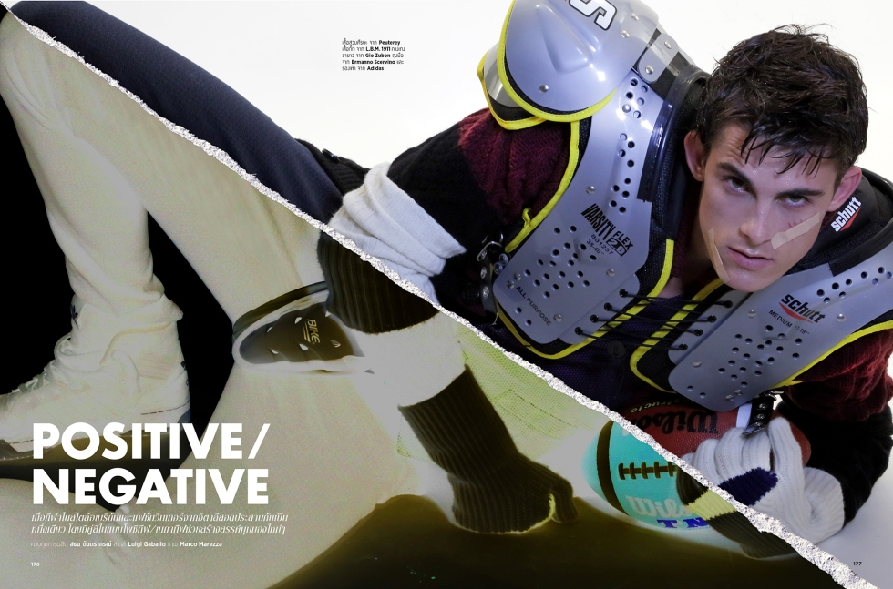POSITIVE/NEGATIVE BY MARCO MAREZZA FOR L'OTIMUM MAGAZINE
