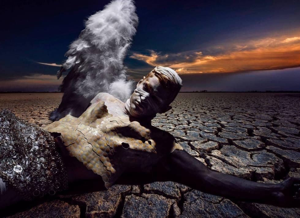 Fallen Angel by Livia Alcalde stars Top Model Sebastian Sauve for L'Officiel Hommes Greece18