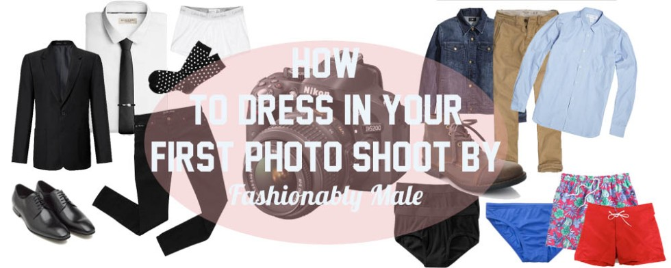 cover how to dresss in your first shoot