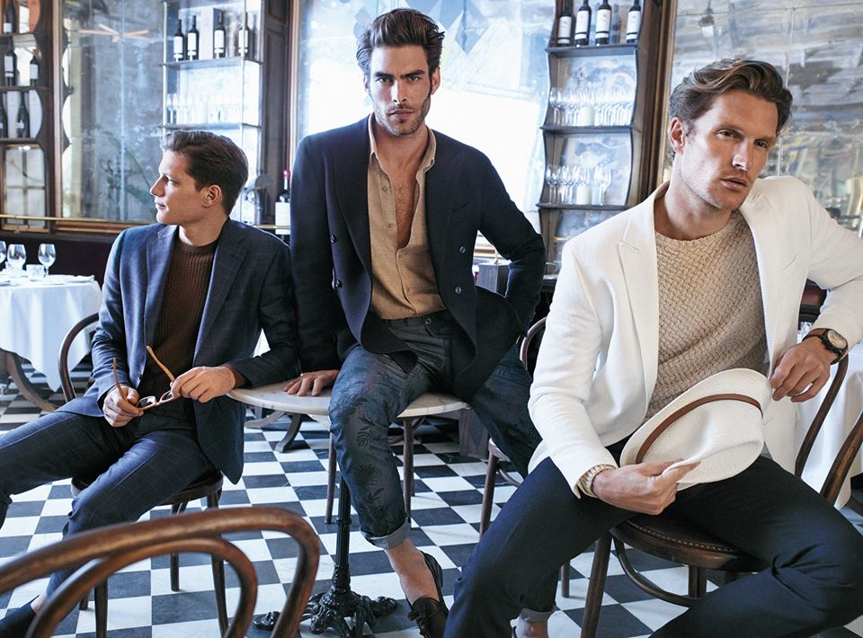 "Introducing The New Massimo Dutti 689 5th Avenue Limited SS""15 Collection starring Jon Kortajarena, Valery Kaufman, Shaun De Wet, Anna Jagodzinska, Florian Van Bael, Melodie Nonrose & Alice Tubilewicz"