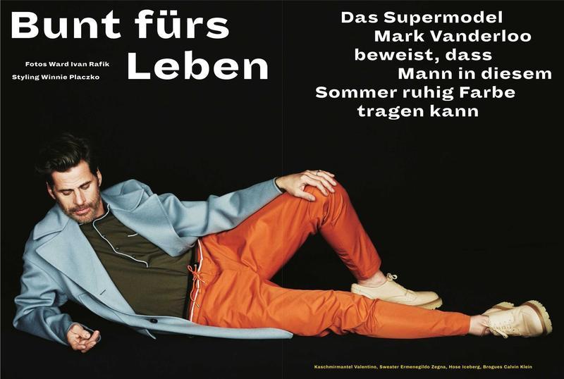 Mark Vanderloo for Zeit Magazine Bunt für's Leben 2015
