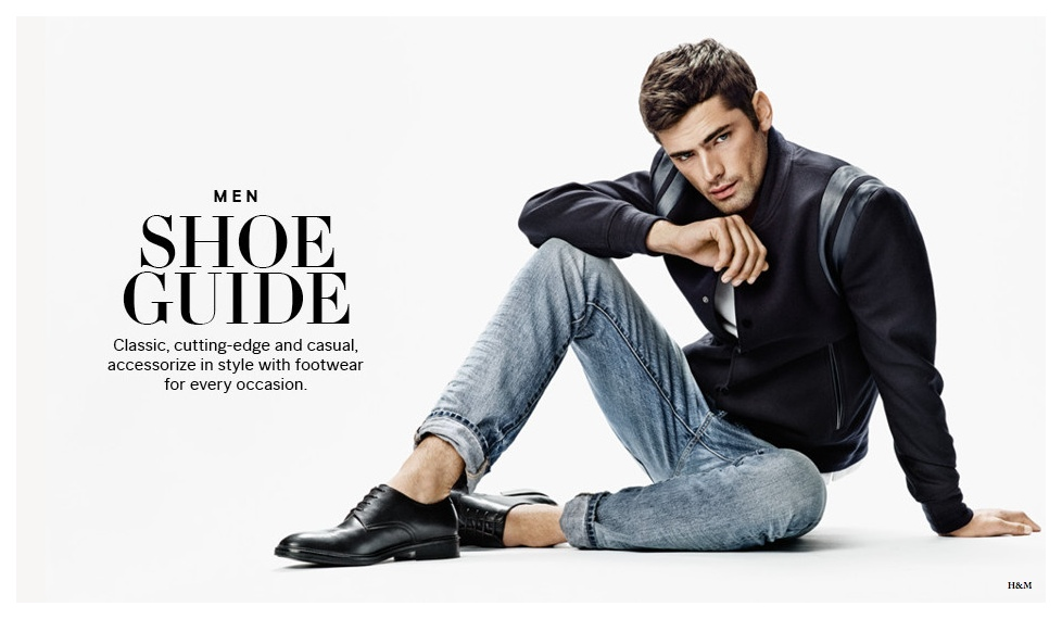 H&M MEN'S SHOE GUIDE