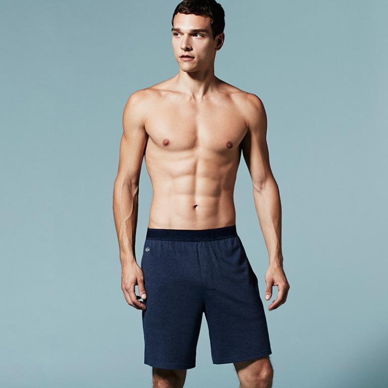 Lacoste unveiled its new Underwear & Sleepwear lookbook, featuring Brazilian model Alexandre Cunha.