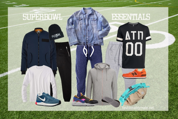 Super Bowl wardrobe Essentials by Fashionably Male