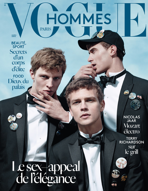 Elegance is... adding a touch of poetry to your tux, a white suit on wet sand, the deep-seated fire of desire. Because uptown chic is hot, Vogue Hommes Editor-in-Chief Olivier Lalanne introduces the Spring/Summer 2015 issue with an ode to contemporary elegance. Out March 18.