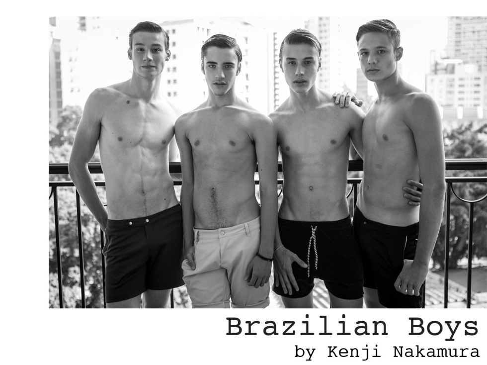 Photographer Kenji Nakamura presents his work with new boys represented by Elian Gallardo Models.