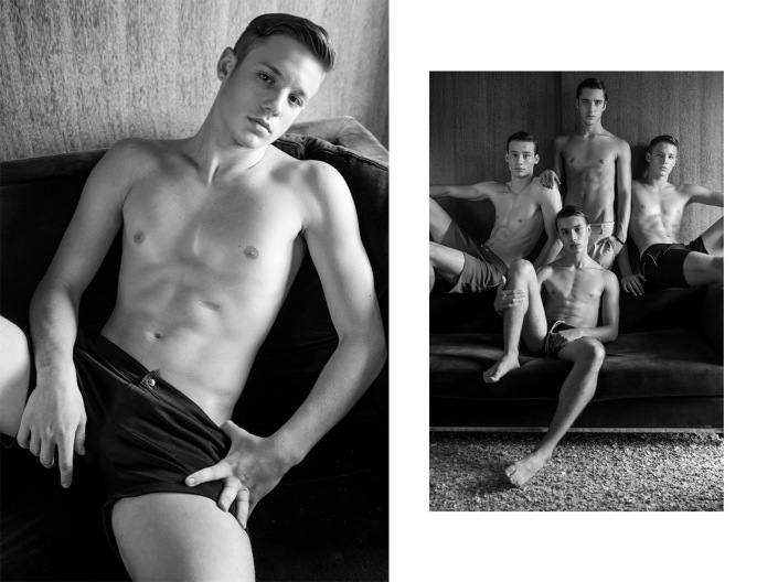 Photographer Kenji Nakamura presents his work with new boys represented by Elian Gallardo Models.