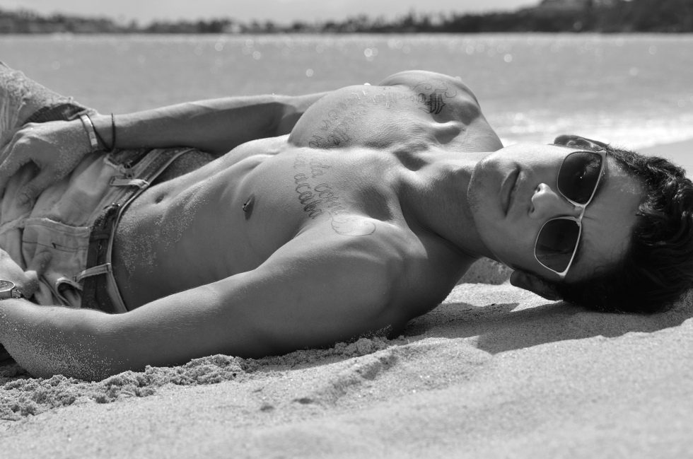 Never seen nothing like this, Photographer Mladen Blagojevic PHOTOGRAPHY​ has radically changed for good all his work and captures, casting new guys like this, presenting Brazilian model Flavio Silva at the Caribbean.