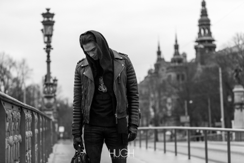 """This was a photoshoot for """"Living Generation"""" (http://www.livinggeneration.com/) and Boda Skins/Reign Italia, modeling handsome male model Chand Smith (MIKAs Stockholm, Beatrice Models) shot by Hugues Buoayed."""