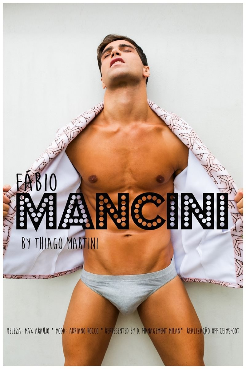 Brazilian sensation Fabio Mancini gets a beautiful highlights snaps with another talented photographer Thiago Martini, styled by Adriano Rocco, Fabio is presented by D'Management, MUA by Max Araújo.