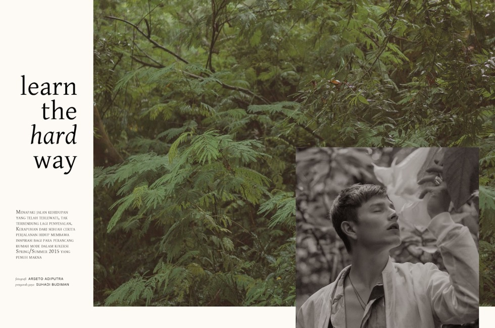 For Men's Folio Special Anniversary Issue by Arseto Adiputra starring by Luke Worrall.