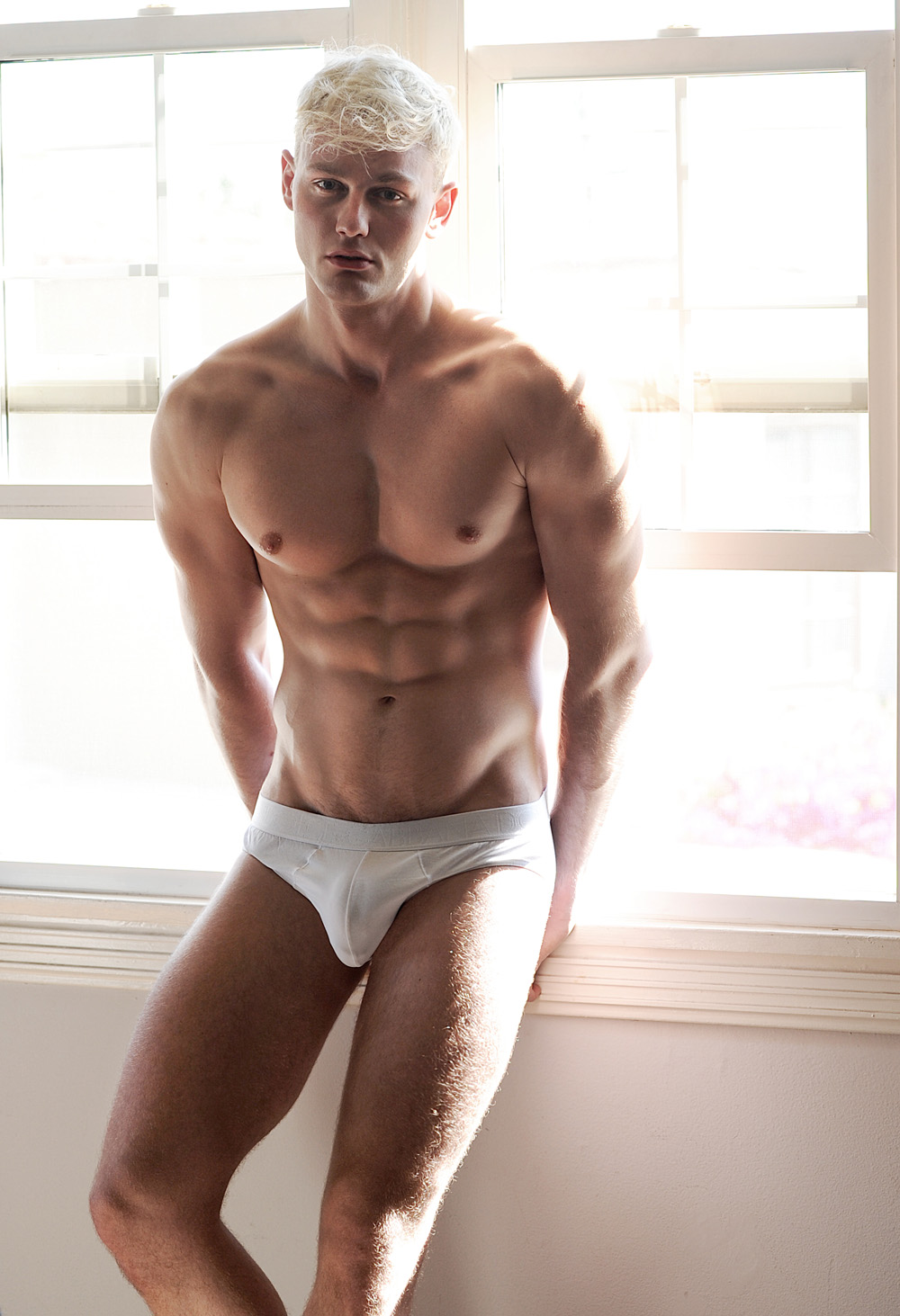 Exclusive for Fashionably Male Laurent Marchand from AIM Models NYC shot in an exclusive by talented Matthew Mitchell.