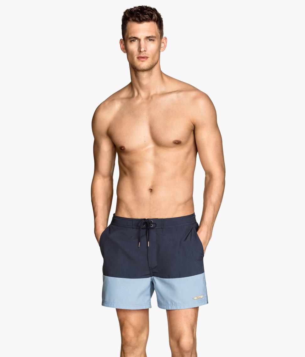 Top model Garrett Neff fronts new H&M Underwear and Swimwear ad shots.