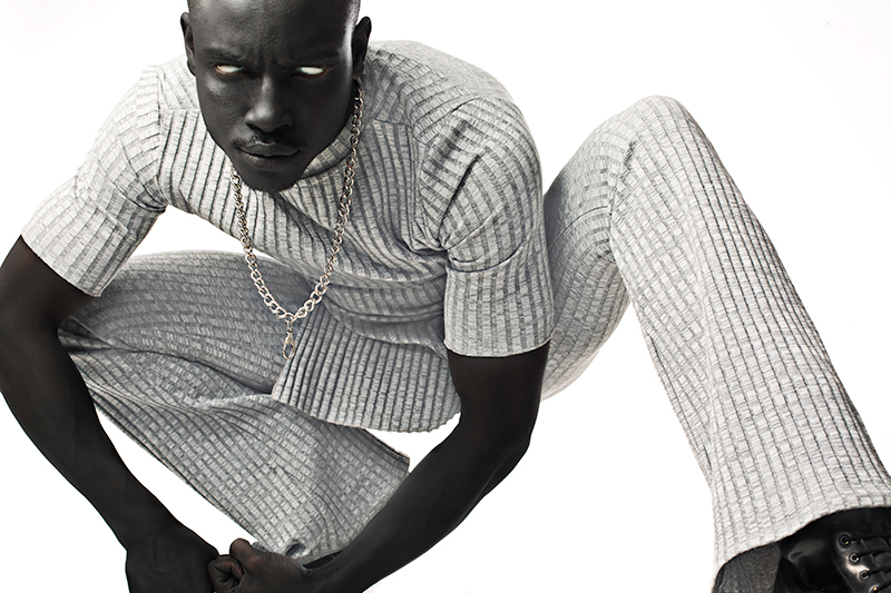 Stylist JeanPaul Paula photographed by Florian Joahn and styled with pieces from Adidas, Dior Homme by Hedi Slimane, Nike, H&M, Zara and Cottweiler.