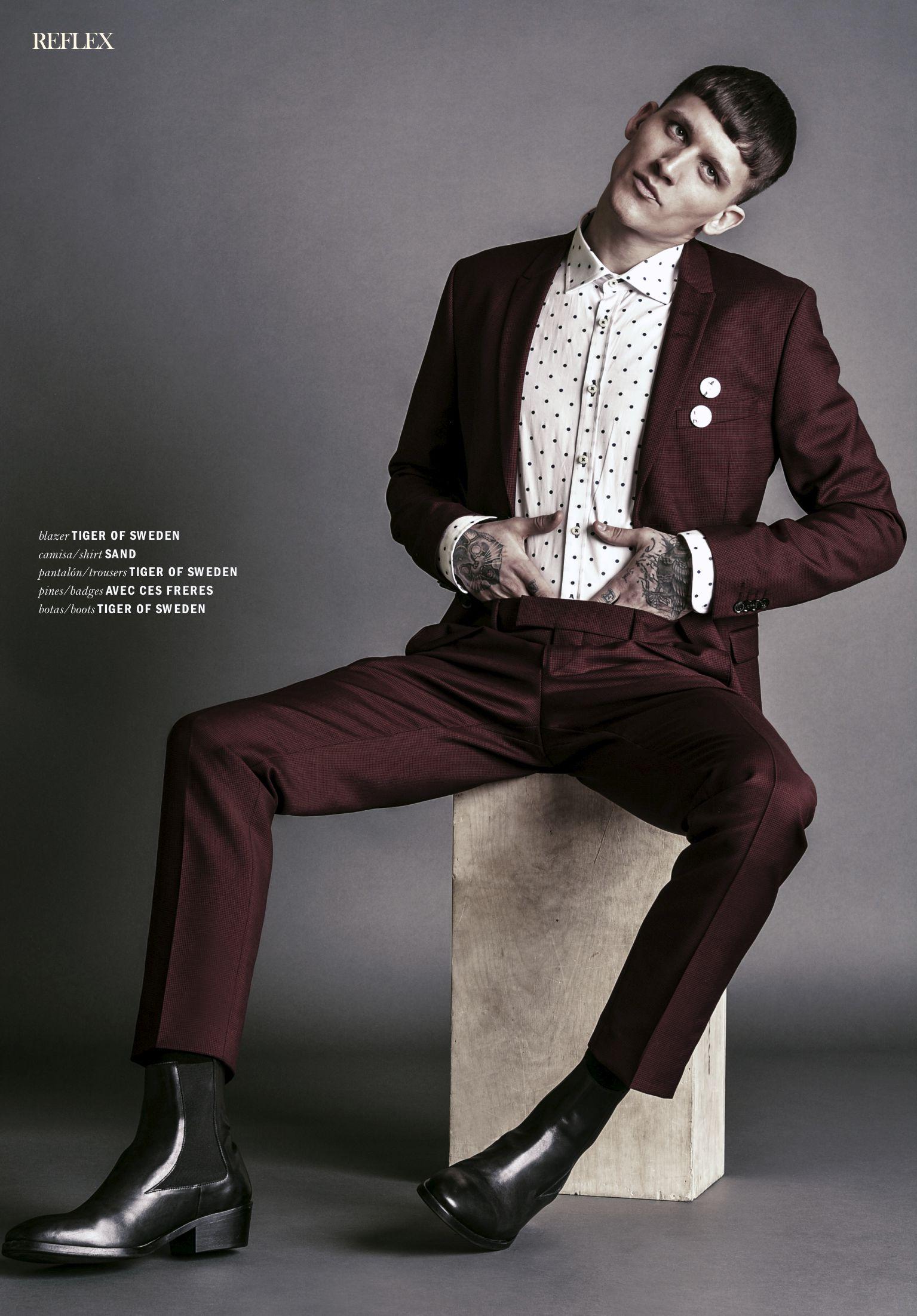 Leebo Freeman For Reflex Homme April 2015 Fashionably Male