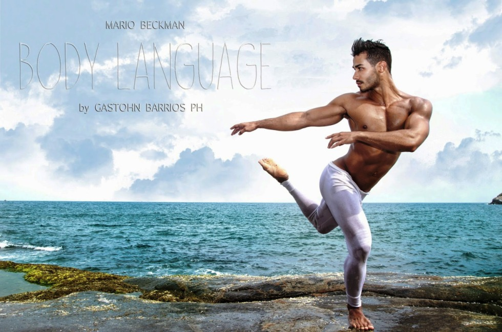 "Another sublime set by Photographer Gastohn Barrios with male model Mario Beckman in ""Body Language"""