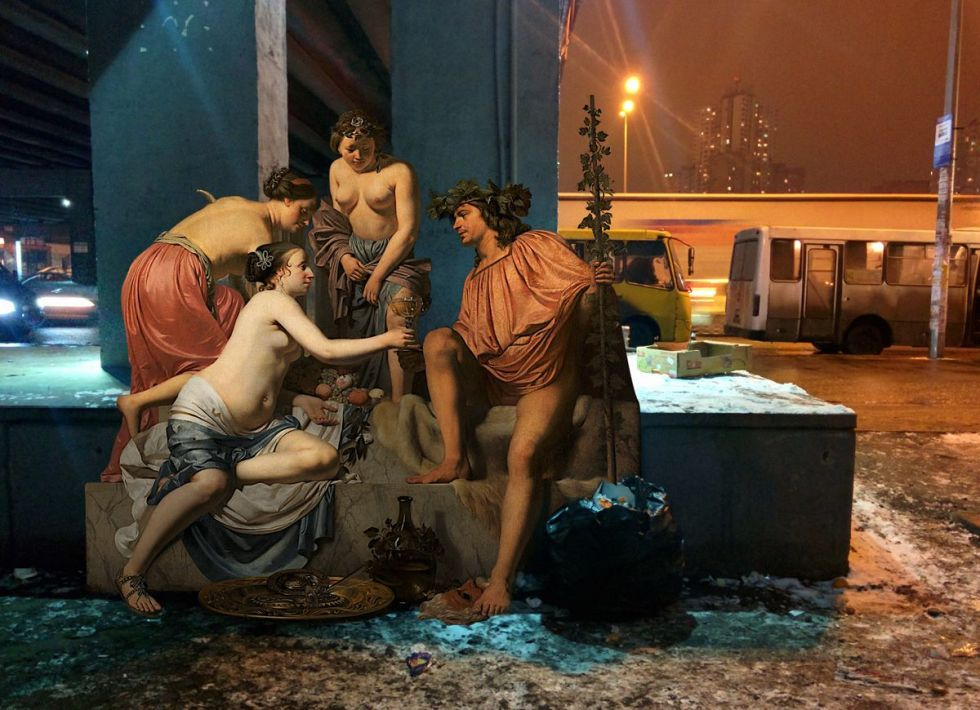 Classical Art takes the City: Artworks by Alexey Kondakov