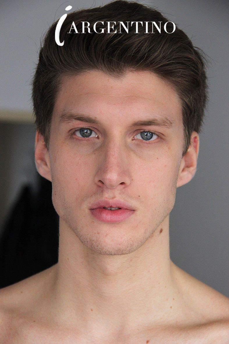 Updated polas for Inboga Mag of new face Juan Manuel Oubina already signed at DHR Models Argentina