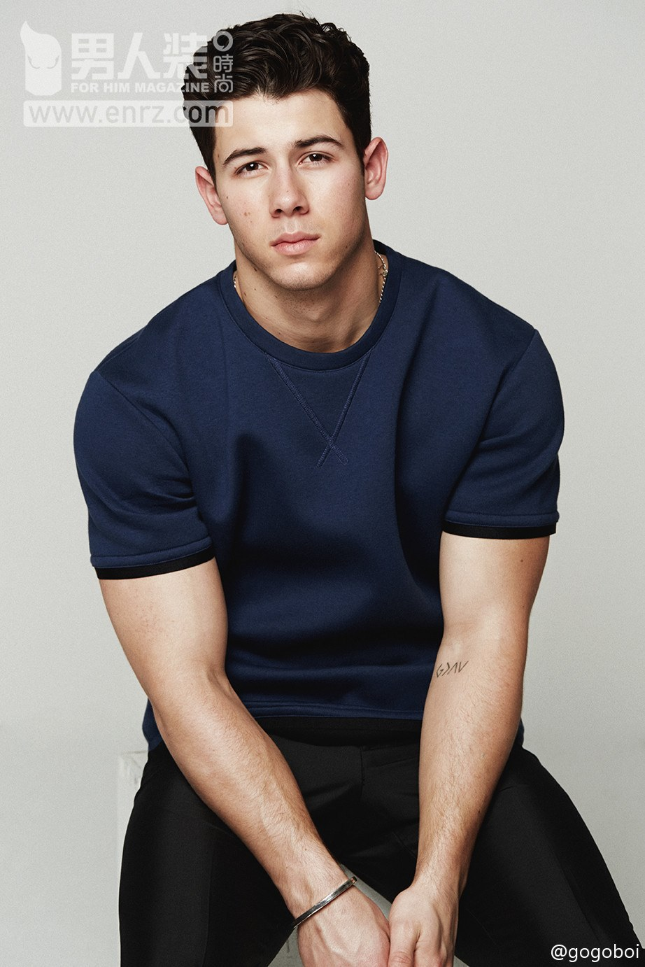 Nick Jonas for FOR HIM MAGAZINE Collection S/S15 Issue ...